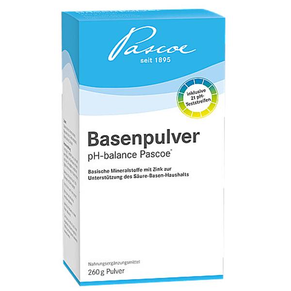 Basenpulver-Pascoe-pH-balance